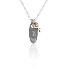 ZN Concept - Silver Pendant With Chain