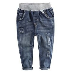 Happy Go Lucky - Kids Distressed Jeans