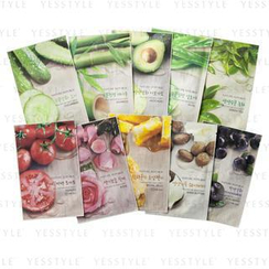 Nature Republic - Real Nature 10-Piece Variety Mask