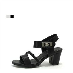 MODELSIS - Chunky-Heel Buckled Sandals