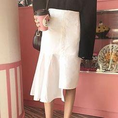 Cloud Nine - Irregular Skirt