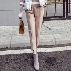 Honeydew - 純色八分褲