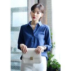DEEPNY - Striped Cotton Shirt