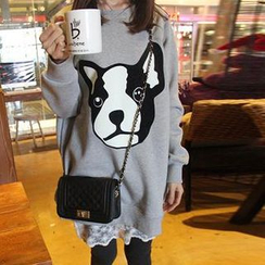 Dream Girl - Dog Print Sweatshirt