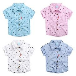 WellKids - Kids Short-Sleeve Print Shirt
