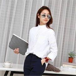 PIPPIN - Long-Sleeve Cotton Shirt (2 Designs)