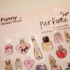 Full House - Perfume Stickers