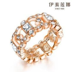 Italina - Swarovski Elements Crystal Cut Out Ring