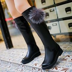 Sunsteps - Pom Pom Tall Boots