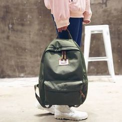 Carryme - Zip Canvas Backpack