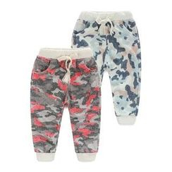 Seashells Kids - Kids Camouflage Sweatpants
