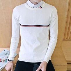 Alvicio - Striped Sweater