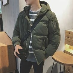 49th Day - Hooded Padded Jacket