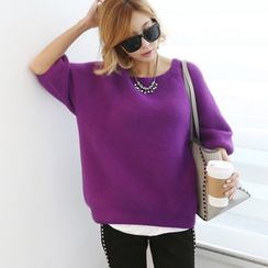 DANI LOVE - Raglan-Sleeve Knit Top