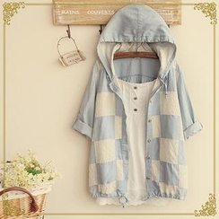 Fairyland - Hooded Check Shirt