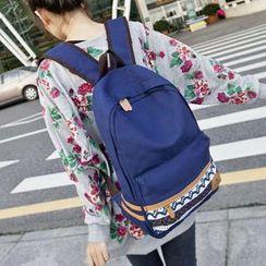 VIVA - Braided Canvas Backpack