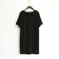蘭芝 - 星星吊飾短袖T恤裙