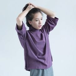 ParaCute - Turtleneck Knit Top