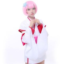 Comic Closet - Re: Zero Starting Life in Another World Rem and Ram Cosplay Costume