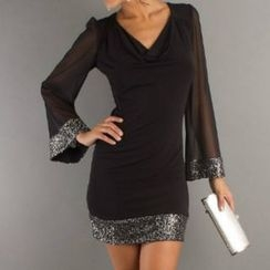 Charlotte - Sequined Sheath Tunic