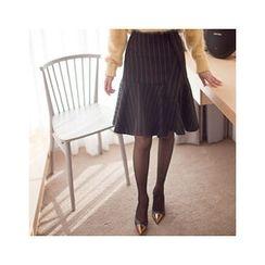 MASoeur - Stripe A-Line Skirt