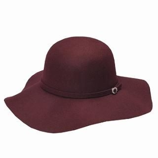Wide-Brim Wool Hat