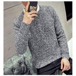 Fisen - Melange Thick Sweater