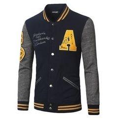 Blueforce - Color Block Baseball Jacket