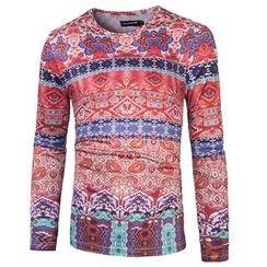 Blueforce - Long-Sleeve Printed T-Shirt