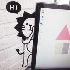 Hera's Place - Computer Monitor Memo Board