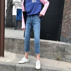 Jolly Club - Cropped Jeans