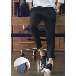 GERIO - Drawstring-Waist Pants