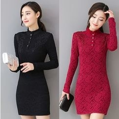 Ekim - Long-Sleeve Sheath Dress