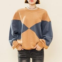 Heynew - Color Block Sweatshirt