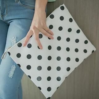 BaseZoo - Polka-Dot Clutch