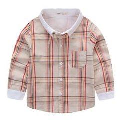 JAKids - Kids Plaid Shirt