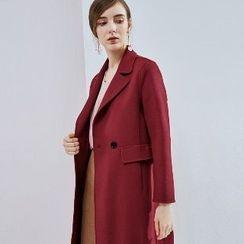 Romantica - Buttoned Wool Coat