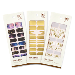 Innisfree - Self Nail Sticker - Full Tip (With Mini Buffer)