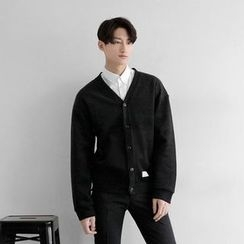 Seoul Homme - Colored V-Neck Cardigan