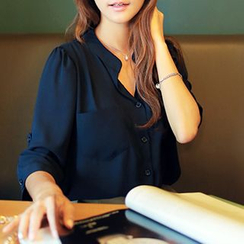 CLICK - 3/4-Sleeve Blouse