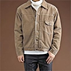 THE COVER - Pocket-Front Fleece-Lined Jacket