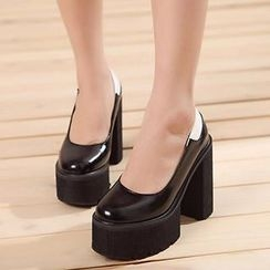 Mancienne - Platform High Heels