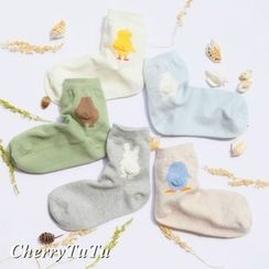櫻桃兔兔 - 動物襪