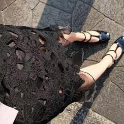 Amella - Lace Midi Skirt