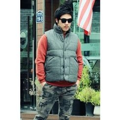 Ohkkage - Button-Down Padded Vest