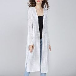 Isadora - Open Front Long Cardigan
