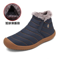 EnllerviiD - Fleece-Lined Ankle Snow Boots