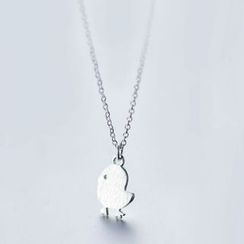 A'ROCH - 925 Sterling Silver Chicken Necklace
