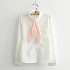 Musume - Rabbit Ear Collar Blouse