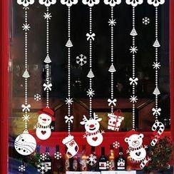 OH.LEELY - X'Mas Window Stickers